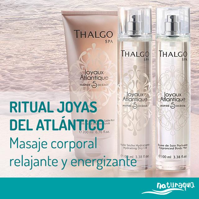 RITUAL JOYAS DEL ATLÁNTICO de Thalgo.