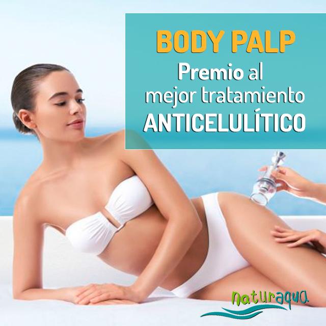 Body Palp, premio al mejor tratamiento anticelulítico, en Naturaqua