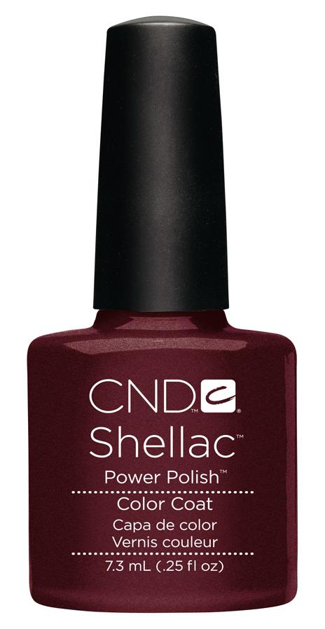 Color darklava, esmalte de la firma cnd shellac
