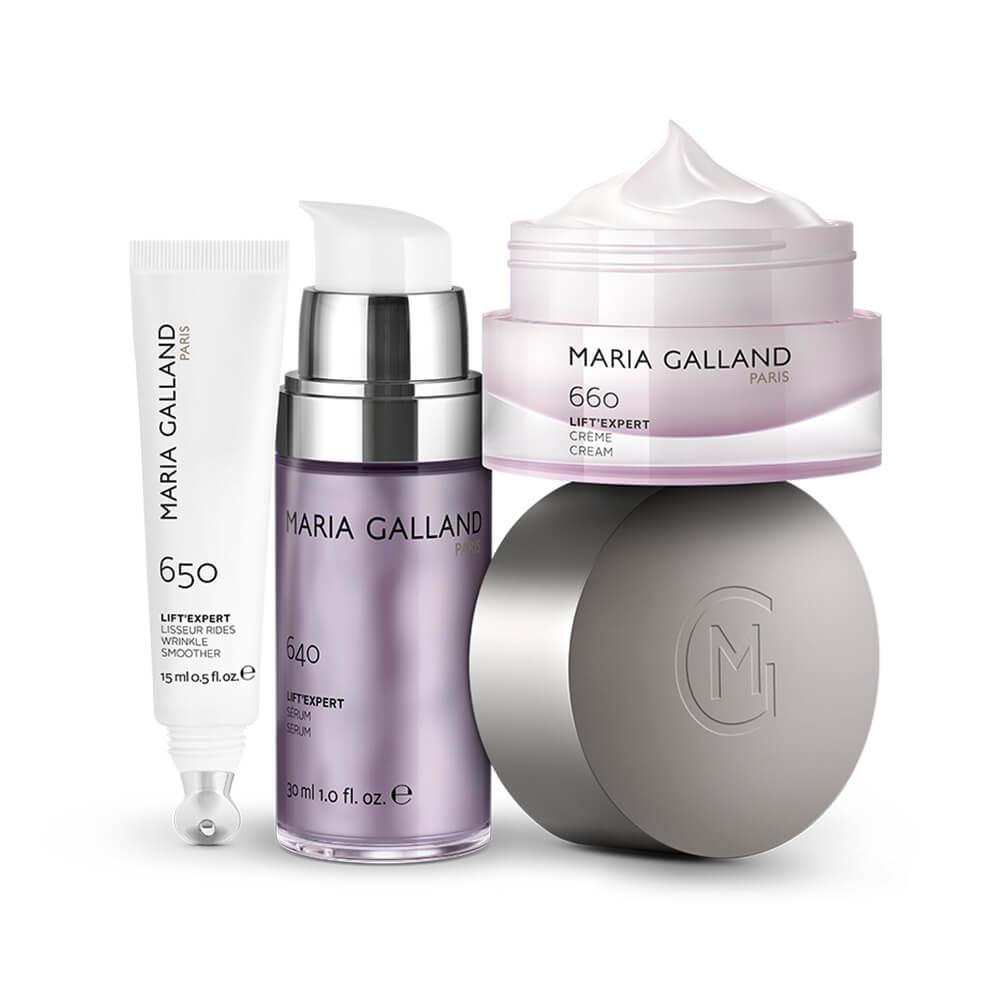 Productos tratamiento antiage Liftin' Expert de Maria Galland
