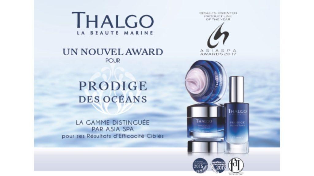 Asia Spa Award: Prodige des Océans, Thalgo. magen recogida en el blog podearroz-blog.pt.